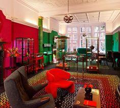 Vibrant indoors. Solange Azagury-Partridge London Shop
