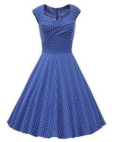 Find Dress Vintage années 50 's Style Audrey HepburnRockabilly Swing, Robe de soirée cocktail: Amazon.fr: Vêtements et accessoires