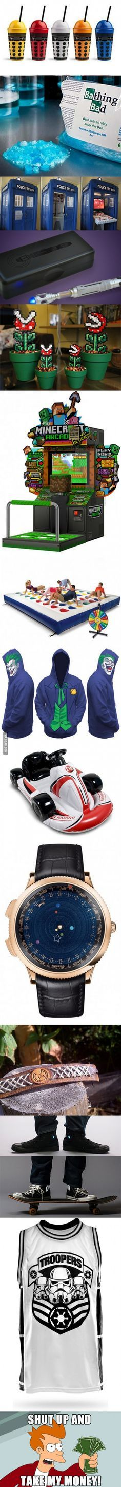Shut up... And take my money!