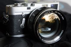 """Leica M2 with Canon 50mm f/0.95 """"Dream Lens"""" 