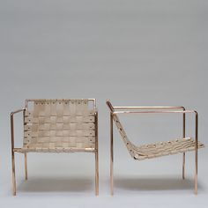 The Rod+Weave Chair developed out of a project I did the first semester of graduate school called - The 5 Chairs Project. The Rod+Weave chair is the second chair I made in that project (and the second chair I've ever made). As with all my work, I try and find the simple and direct fo