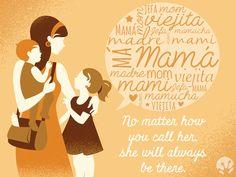Mamá - Mamita - Jefa - Viejita - Má - Madre - Mom - Mamucha. No importa cómo la llames, ella siempre está.   Felicidades a todas las madres en su día y GRACIAS por su inmensa labor de amor.  #happymothersday #SanaSana