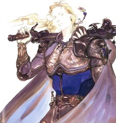Yoshitaka Amano - Edgar Roni Figaro - Final Fantasy VI