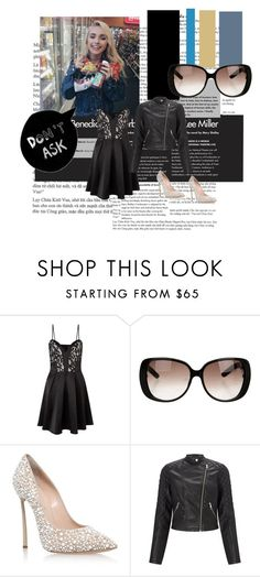 """""""Airi Royal Ball/Formal Outfit/Party Outfit"""" by undertale-diva ❤ liked on Polyvore featuring Lipsy, Gucci and Casadei"""