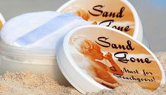 $12.95 SAND GONE a fine powder that removes wet or dry sand from anywhere