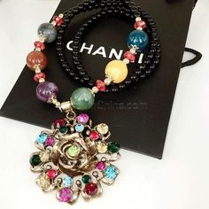 30% OFF! Korean Bohemian Style Retro Pearl Long Sweater Necklance 168 Flower Picture color #madeinchina #necklace >http://dxurl.com/ROvC