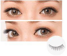Diamond Beauty - Diamond Lash Nudy Couture Series, Heroine Eye – Japan Skin