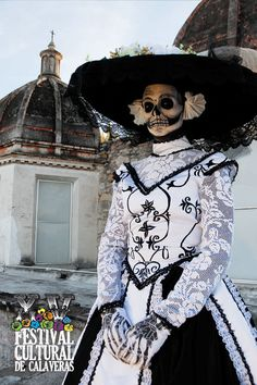 Beautiful Day of the Dead outfit