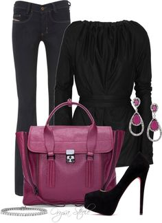 """""""Pink Glamour"""" by orysa on Polyvore"""