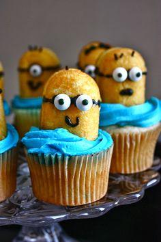 Cannella Vita: minion cupcakes