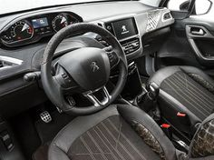 The interior of the 208 Natural