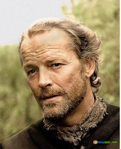 The dreamy Iain Glen from GAME OF THRONES.