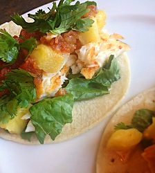 Easy-Peasy Tilapia Fish Tacos Fish Tacos, Gouda, Tilapia, Easy Peasy, Healthy, Ethnic Recipes, Health