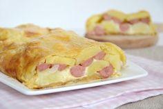 Rustico patate wurstel e mozzarella, scopri la ricetta: http://www.misya.info/ricetta/rustico-patate-wurstel-e-mozzarella.htm