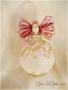 Faberge+Inspired+Christmas+Ornament+by+SilverOwlStudio+on+Etsy,+$28.00