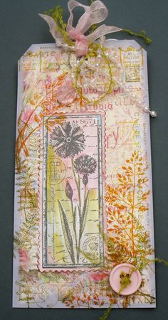 pretty tag from A Splash of Colour ~ My Art blog by Helen Chilton