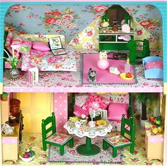 Sylvanian Families Cath Kidston Decorated House Cottage Furniture Accessories | eBay