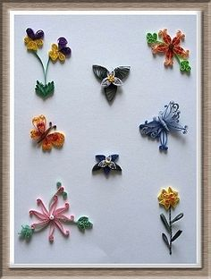 Flowers and Butterflies Kit