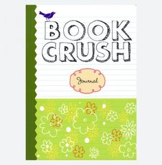 Book Crush Journal filled with prompts to help you record your thoughts on the books, characters and plots you've read. Gifts For Readers, Book Lovers Gifts, Book Club Books, Prompts, Crushes, Journal, Thoughts, Reading, Writers