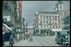 """Third Reich in Color """"Ein Volk - Ein Reich - Ein Führer"""" LIFE Image"""