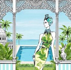 Megan Hess ~ The Chic Hotelier