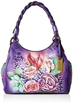 Anuschka handbags stand out for their amazing artwork.