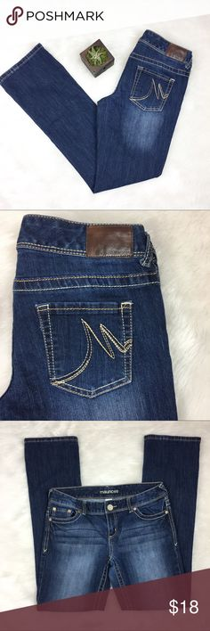 Maurice's Blue Jeans 5/6 Regular Maurice's blue jeans. Size 5/6 with 31' inseam. GUC with no major flaws. Maurices Jeans Boot Cut
