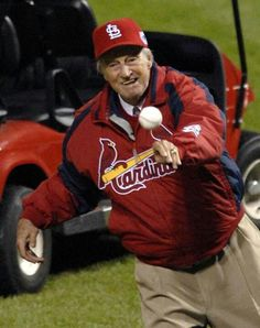 Stan the Man...Throwing out the first pitch..
