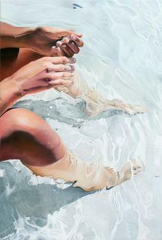 Joseph Moncada / Painting··Oil painting·Canvas·Figurative·Hyperrealism·Body