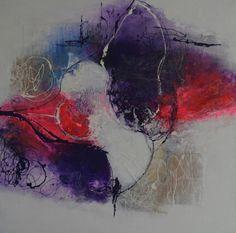 No.11 Kleurige moderne abstracte schilderijen, acrylverf op doek zonder lijst. Prijzen varieren tussen de 50 en  195 euro. Voor meer informatie neem contact op met schilderijen.Fenny@gmail.com