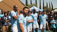 Heard On the Street: At the Manchester City Soccer Festival - Urban Pitch Boys And Girls Club, Boy Or Girl, Street Football, East Los Angeles, S Man, Manchester City, Pitch, Drill, Crowd