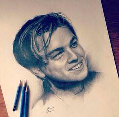 Leonardo di caprio drawing♥♥