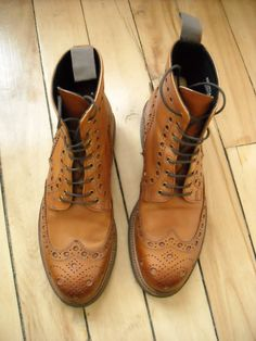 Grenson Brogues.  Love.