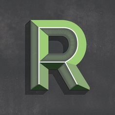 "This is a really nice ""R"" (by reevesjosh.com, via Flickr)"