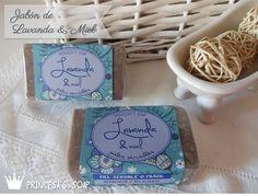 Jabón de Lavanda y Miel, ideal para tratar las pieles más delicadas o sensibles.