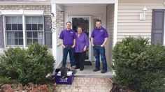 Pictured from left to right: Window Genie Field Technician Adrian DeRosa, Webster Comfort Care Home Primary Nurse Mary Barnhart, and Window Genie Field Technician Chase Osborn. SUBMITTED
