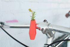 Ring in Spring With These Flower Vase Bike Accessories | Mental Floss