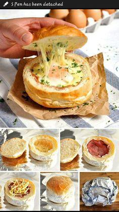 Ham &egg roll