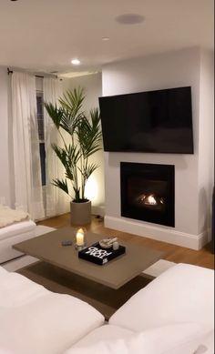 Home Room Design, Dream Home Design, Home Interior Design, Living Room Designs, House Design, Home Living Room, Apartment Living, Living Room Decor, Living Room Interior