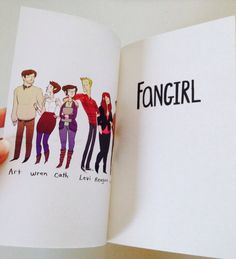 The Shy Books - thebookishlinguist: Just One Word Book Photo. Fangirl Book, Book Fandoms, Book Nerd, Eleanor And Park, Rainbow Rowell, Little Library, Book People, Vintage Books, Book Recommendations