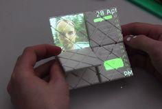 #Paddle'dan fiziksel hareketlerle kontrol edilerek katlanabilen, döndürülebilen ve kaydırılabilen akıllı #telefon  http://www.youtube.com/watch?v=zLe52PFZrtc