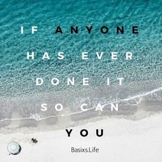 Anything is possible if you devote your life to it! #BasixsLife