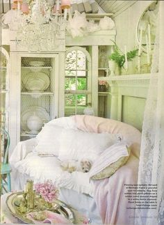shabby chic lovely - I'm going to make me a little shack just like this so I can go out and read and relax........ One day!