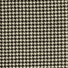 Houndstooth Fabric- Black & White, use for interior upholstery, car interior, boat interior. White Spruce, Fabric Finders, Houndstooth Fabric, Warwick Fabrics, Fabric Houses, Curtain Fabric, Ms Gs, Color Show, Colour