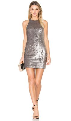 Shop for Halston Heritage Sequined Dress in Antique Silver at REVOLVE. Free 2-3 day shipping and returns, 30 day price match guarantee.