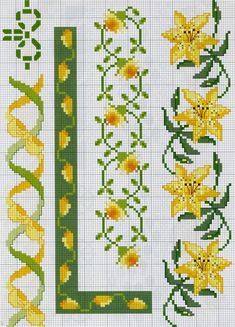 1 million+ Stunning Free Images to Use Anywhere 123 Cross Stitch, Cross Stitch Borders, Cross Stitch Flowers, Cross Stitch Designs, Cross Stitch Patterns, Hand Embroidery Patterns, Cross Stitch Embroidery, Seed Bead Flowers, Wedding Cross