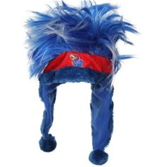 Kansas Jayhawks Troll Dangle Hat - Royal Blue