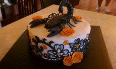 The Cake Bowtique - Creative Cakes Gallery: A Scorpio Birthday Cake