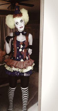My scary clown costume! #PartyCity rocks!