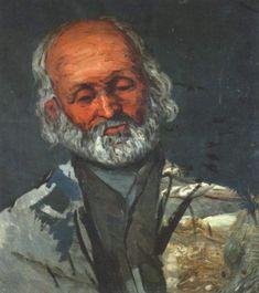 Porträt eines alten Mannes, Paul Cézanne